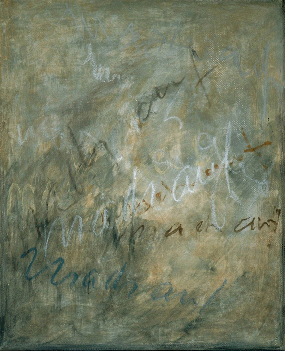Gespräch mit dem Stein 1 - Mach auf - Hilke Knoblauch 2005