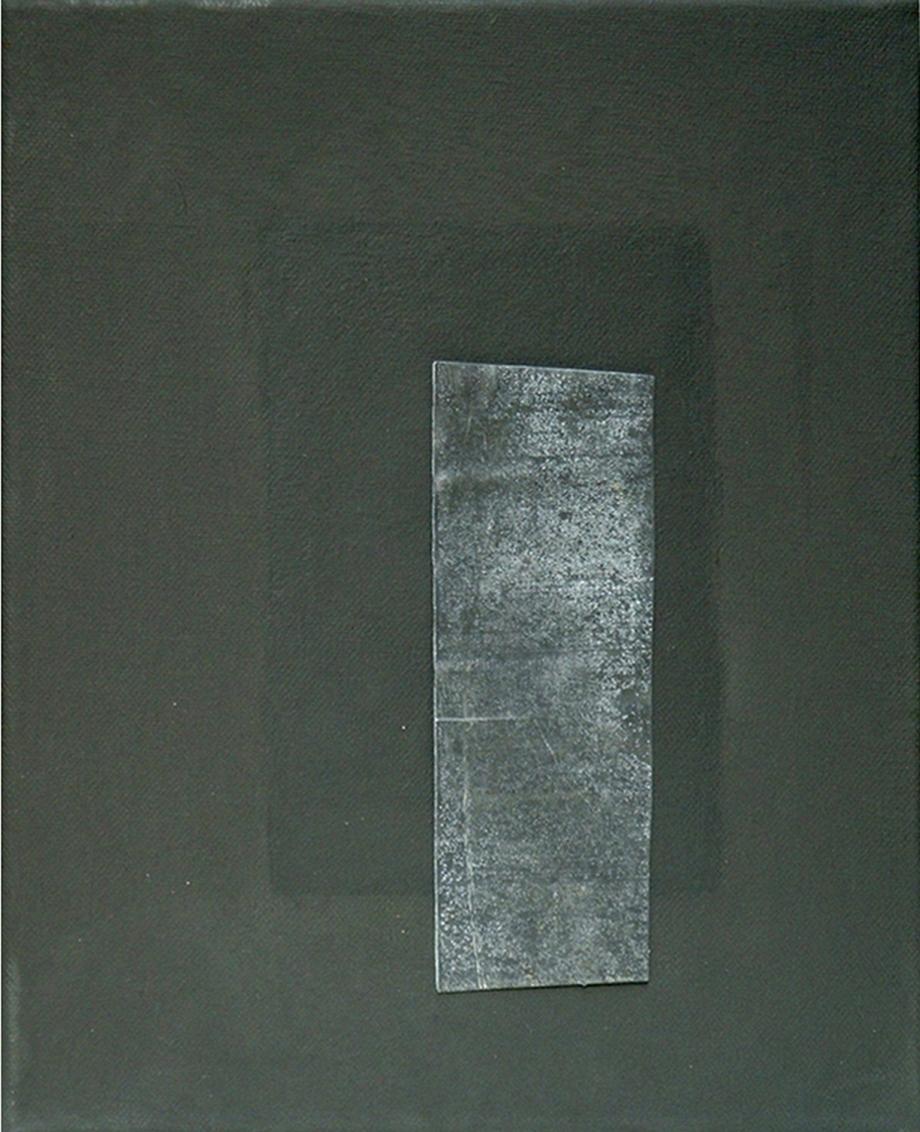 Gespräch mit dem Stein 15 - Bleiblech - Hilke Knoblauch, 2005