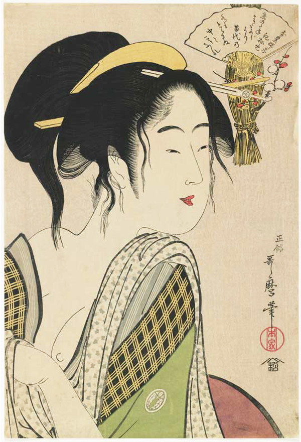 Kitagawa Utamaro, Love for a Farmer's Wife, 1795-96