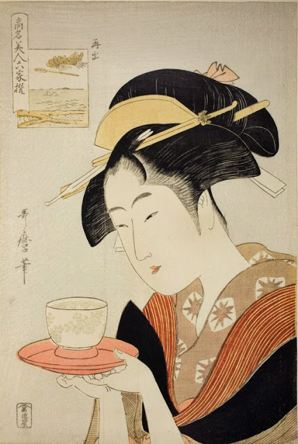 Utamaro Six Beauties b