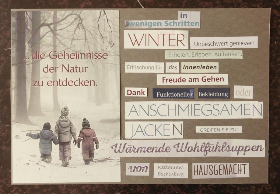 Winter Wanderung 2019 print